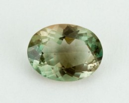 1.3ct Oregon Sunstone, Clear/Green Oval (S1549)