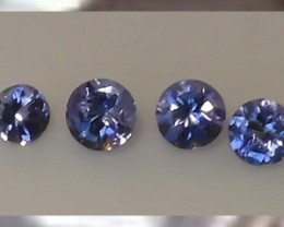 A Parecel of Accent sized Tanzanites ~ Beautiful Lustre