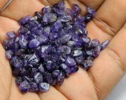 153cts Natrual Amethyst Candy Chips Beads Parcel Z394