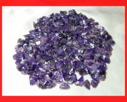 148cts Natrual Amethyst Candy Chips Beads Parcel Z398
