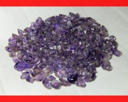 159cts Natrual Amethyst Candy Chips Beads Parcel Z399