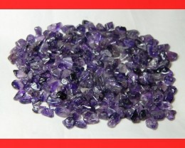 130cts Natrual Amethyst Candy Chips Beads Parcel Z400
