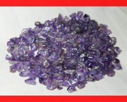 168cts Natrual Amethyst Candy Chips Beads Parcel Z401