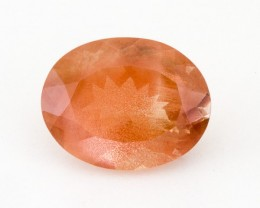 6.1ct Spectacular Peach Oval Sunstone (S1435)