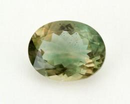 1.7ct Green Oval Sunstone (S1469)