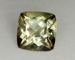 2.4ct Oregon Sunstone, Champagne/Green Square (S1447)