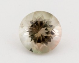 1.5ct Oregon Sunstone, Clear/Green Round (S1450)