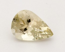 1.2ct Oregon Sunstone, Clear Pear (S1571)