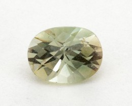 .8ct Oregon Sunstone, Clear/Green Oval (S1597)