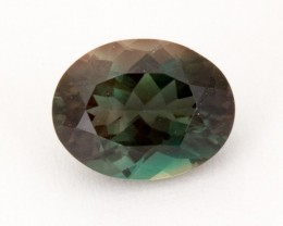 1.6ct Oregon Sunstone, Dichroic Green/Red Oval (S1302)