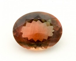 2.1ct Oregon Sunstone, Green/Red Oval (S1300)