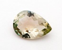 2ct Oregon Sunstone, Champagne/Green Pear (S1324)