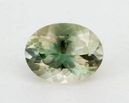 1.7ct Oregon Sunstone, Champagne/Green Oval (S1335)
