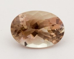 2.3ct Oregon Sunstone, Champagne/Pink Oval (S1297)