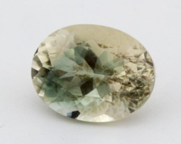 3.5ct Champagne Green Oval Sunstone (S1269)