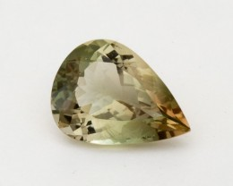 4.7ct Oregon Sunstone, Champagne/Green Pear (S1283)