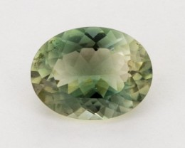 3ct Oregon Sunstone, Clear/Green Oval (S1286)