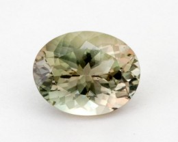 3ct Oregon Sunstone, Champagne/Green Oval (S1274)