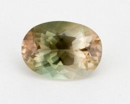 2.5ct Oregon Sunstone, Champagne/Green Oval (S1289)