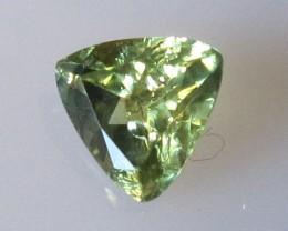 0.90cts Natural Australian Trillion Yellow Parti Sapphire