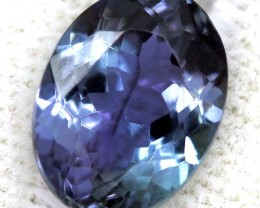 OCEAN TANZANITE UNHEATED VIOLET BLUE GREEN  2.40  CTS RNG-15