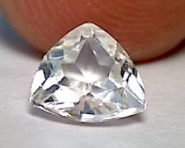 1.58ct Trillion cut Glittering Danburite Mexico IF/VVS B227