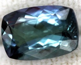 TANZANITE UNHEATED VIOLET BLUEGREEN  2 CTS RNG-22