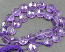 69.00 CTS FACTED AMETHYST BEADS 28 PIECES