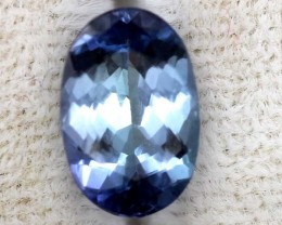TANZANITE  VIOLET BLUE GREEN 1.10  CTS RNG-40