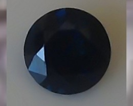 Certified Unheated Untreated 1.10cts ~ VVS ~ Blue Sapphire