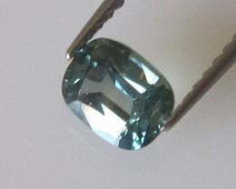 0.66cts Natural Australian Cushion Cut Blue Sapphire