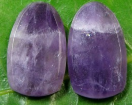 19.5CTS  PAIR  AMETHYST PAIR  GG928