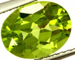 PERIDOT FACETED STONE 2.05 CTS  PG-1015