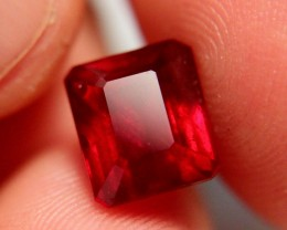 6.88 Carat VS2 Ruby - Fiery and Beautiful