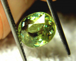 3.88 Ct. Vibrant Green VS Sphene - Rainbow Flashy, Beautiful