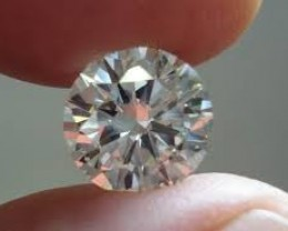 NATURAL SOLITIAIRE WHITE DIAMOND, 2.18CTW SIZE , 1PCS,NR