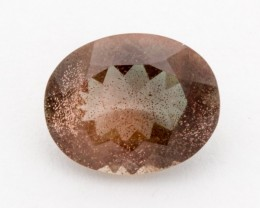 3ct Oregon Sunstone, Rootbeer Oval (S1217)