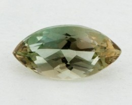 .55ct Oregon Sunstone, Green/Clear Marquis (S884)