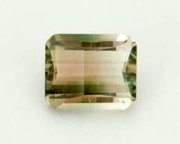 .9ct Oregon Sunstone, Champagne/Green Rectangle (S993)