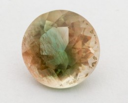 2.8ct Oregon Sunstone, Green/Peach Round (S1221)