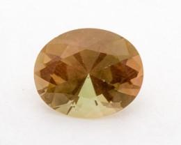 5.4ct Oregon Sunstone, Peach/Green Oval (S1222)