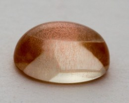 1.5ct Oregon Sunstone, Clear/Peach Cabochon (S862)