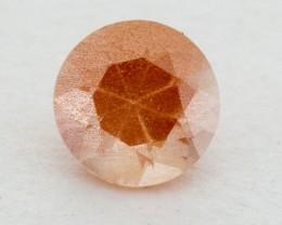 .55ct Oregon Sunstone, Peach Round (S874)