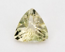 1.7ct Oregon Sunstone, Champagne/Green Triangle (S1019)