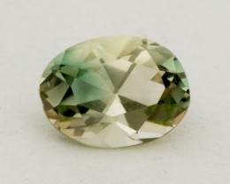 1.5ct Oregon Sunstone, Champagne/Green Oval (S1021)