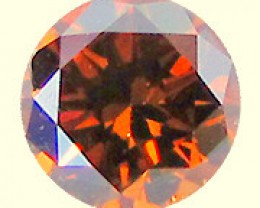 NATURAL VERY RARE- BROWN RED DIAMOND,0.49CTW, 1PCS