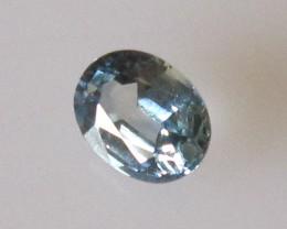 0.36cts Natural Australian Oval Cut Blue Sapphire