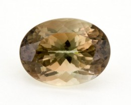 4.2ct Oregon Sunstone, Rootbeer/Clear (S1231)