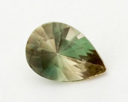 2.7ct Oregon Sunstone, Green/Clear Pear (S1233)