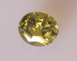 0.64cts Natural Australian Parti Sapphire Oval Shape